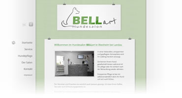 WebdDesign - Hundesalon Bellart